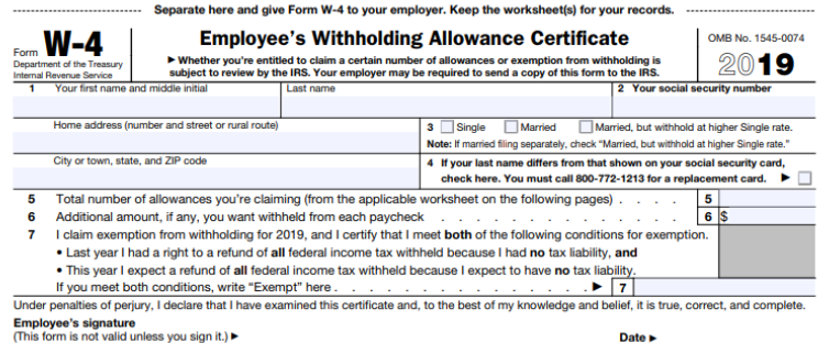Have You Updated Your W-4 Tax Withholding Lately?